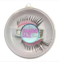 Long Sweep Lashes - Pink w/Black Tips