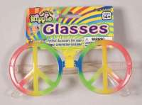 Rainbow Peach Sign Glasses