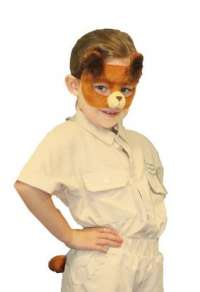 Bear Mask and Tail child costume set