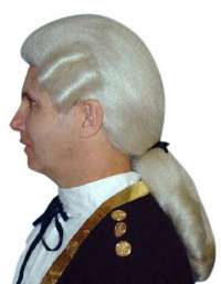 George Washington wig