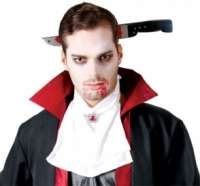 Zombie Knife Thru Head Headband