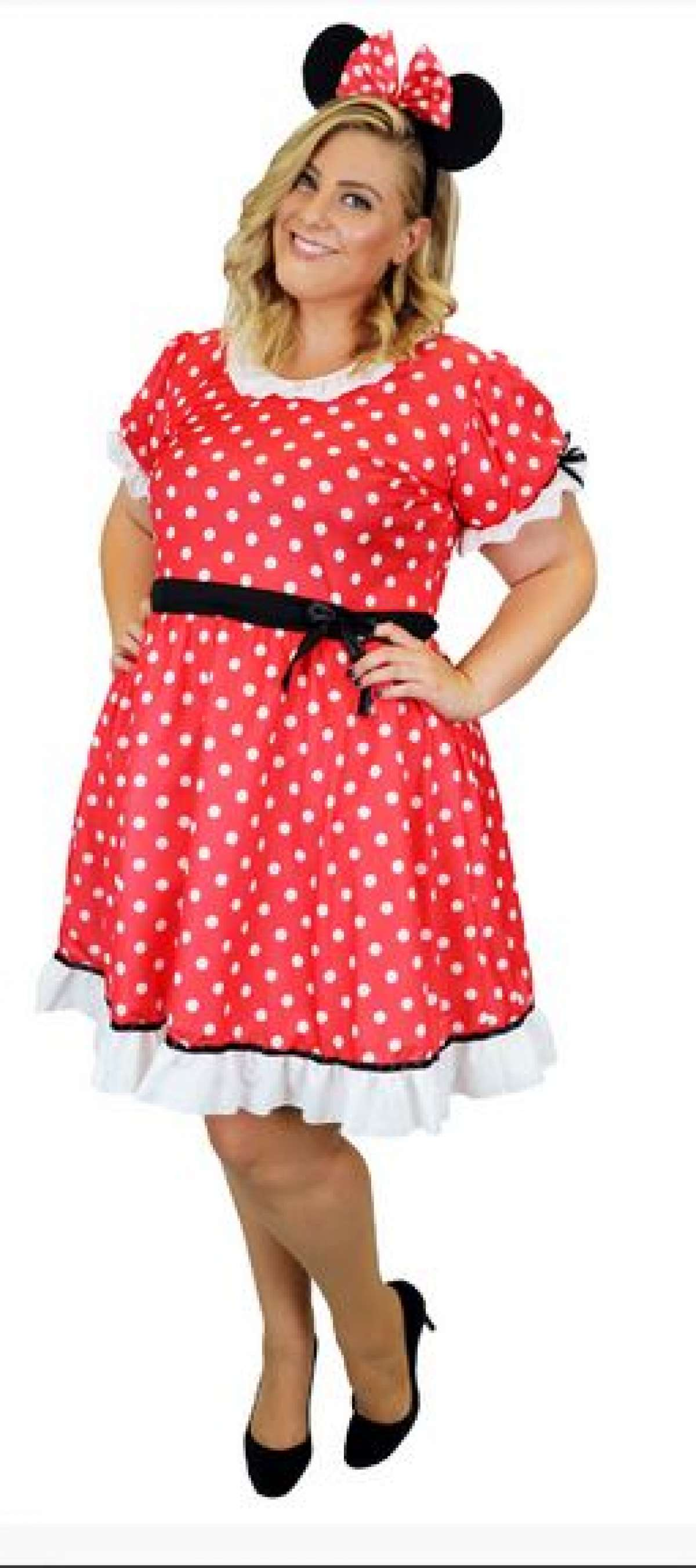 Costume Closet Ipswich - Minnie Mouse Plus Size Ladies Costume