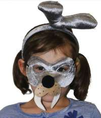 Walrus Mask and headband child costume set