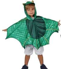 Dragon cape with hood