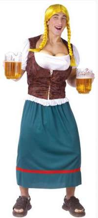 Bavarian Beauty with Beer Tap Bust