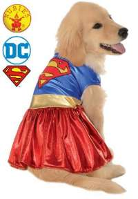 Supergirl Dog Pet Costume