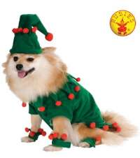 Elf Dog Pet Costume