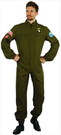 Aviator topgun suit