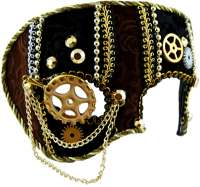 Mens Steampunk Masquerade Mask