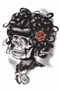 Doris The Dead Gothic Tattoo