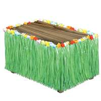 Artificial Grass Table Skirting Green