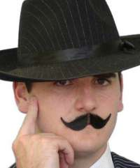 'French Inspector'Black Moustache