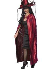 Reversible Cape Red and Black