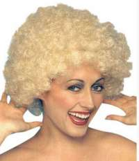 Kath - Short Curly Blonde Frizz Wig