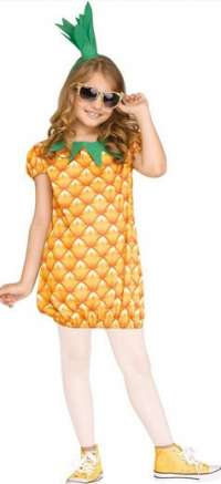 Child Pineapple dress costume