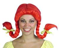 Pippi Longstocking - Red Wig