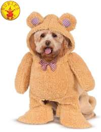 WALKING TEDDY BEAR Dog pet Costume