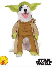 Deluxe Yoda Dog Pet Costume