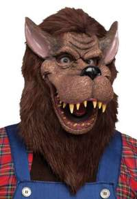Big bad wolf adult mask