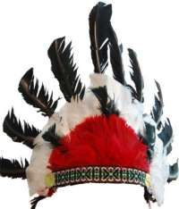 Indian Headdress - Black
