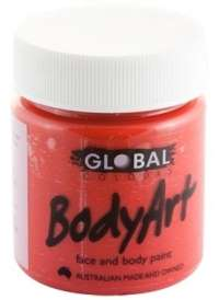 Face & Body Paint 45ml Brilliant Red