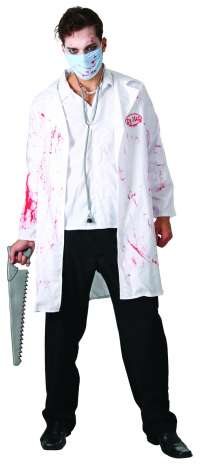 Dr Mad Lab Coat and Mask