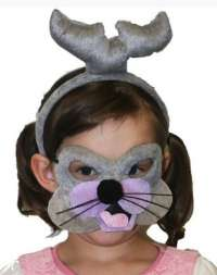Seal Mask and headband child costume set
