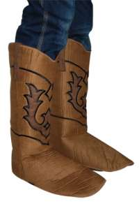 Cowboy Suede Boot Covers