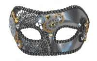 Steampunk Gears Masquerade Mask