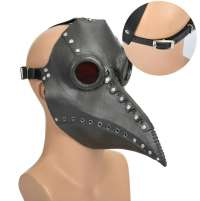 Plague Doctor Mask Full head Rubber