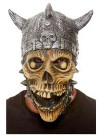 Viking Skeleton Latex Mask