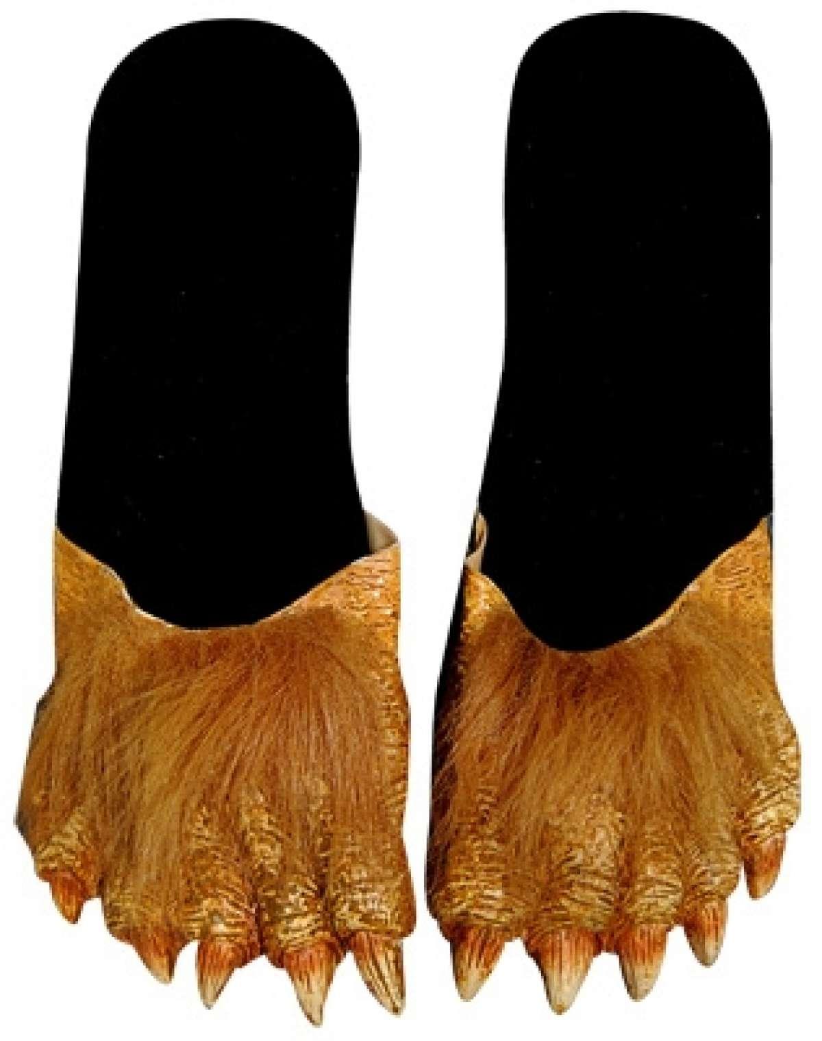 Billy Bob Werewolf Feet - Adult  sc 1 st  Costume Closet Ipswich & Costume Closet Ipswich - Billy Bob Werewolf Feet - Adult