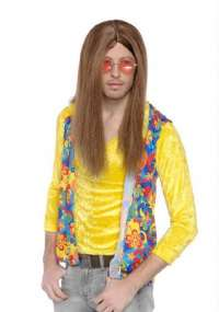 Hippie Guy - Brown wig