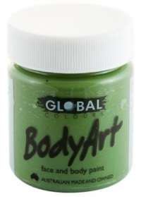 Face & Body Paint 45ml Green Oxide